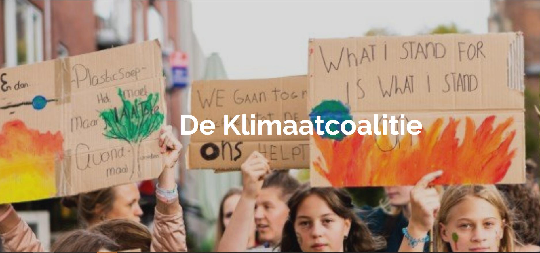 Klimaatcoalitie – Actieperiode juni 2021