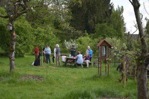 Theemiddag, loop de boomgaard in voor een ont-moeting bij een kopje thee. @ Rosande Gaerd | Oosterbeek | Gelderland | Nederland